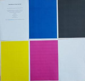 Printer print test