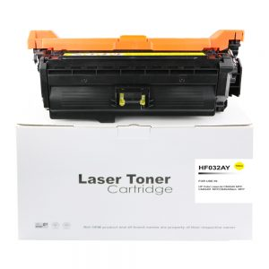 Comp HP CM4540 Yellow Toner Ctg CF032A